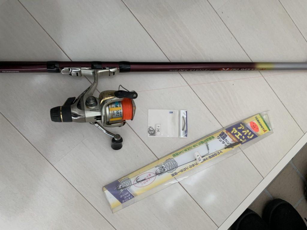 ヤエン釣りに必要な道具