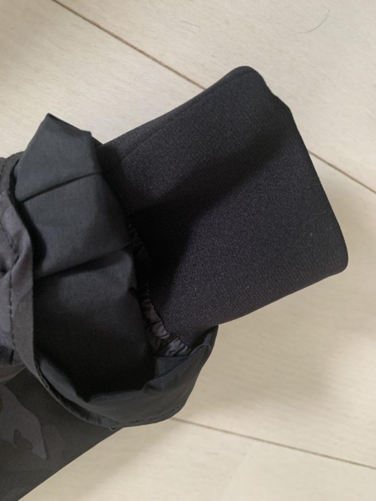 ダイワDW1909の袖