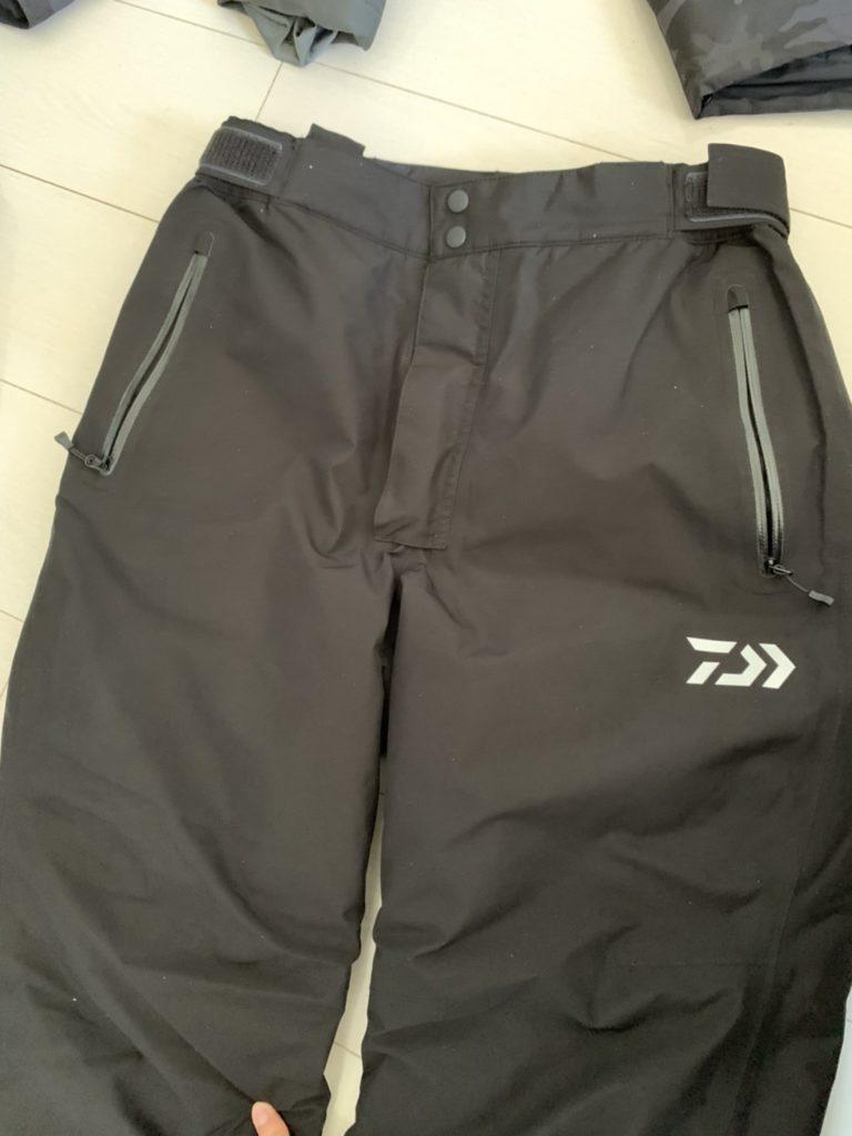 ダイワDW1909のズボン